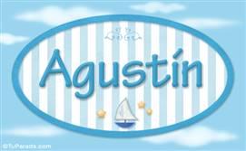 Agustín, nombre de bebé, nombre de niño