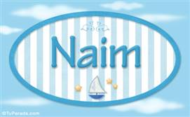 Naim - Nombre decorativo
