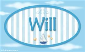 Will - Nombre decorativo
