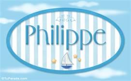 Philippe - Nombre decorativo