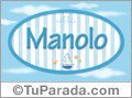 Manolo - Nombre decorativo