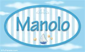 Manolo - Nombre decorativo