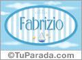Fabrizio - Nombre decorativo