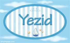 Yezid - Nombre decorativo