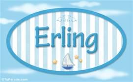 Erling - Nombre decorativo