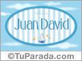 Juan David - Nombre decorativo