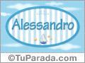 Alessandro - Nombre decorativo