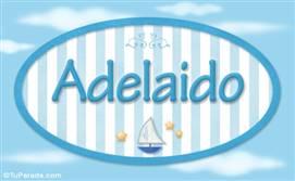 Adelaido, nombre de bebé, nombre de niño