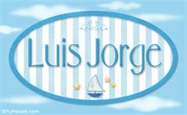 Luis Jorge - Nombre decorativo