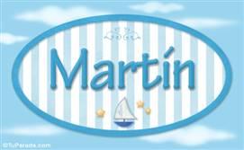 Martín - Nombre decorativo