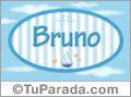Bruno - Nombre decorativo