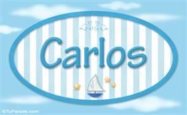 Carlos - Nombre decorativo