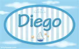 Diego - Nombre decorativo