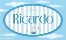 Ricardo - Nombre decorativo