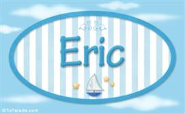 Eric - Nombre decorativo