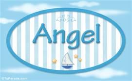 Angel - Nombre decorativo