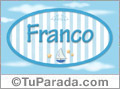 Franco - Nombre decorativo