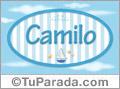 Camilo - Nombre decorativo