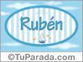 Rubén - Nombre decorativo