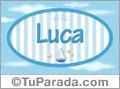 Luca - Nombre decorativo