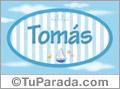 Tomás - Nombre decorativo