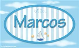 Marcos - Nombre decorativo