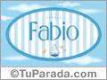 Fabio - Nombre decorativo