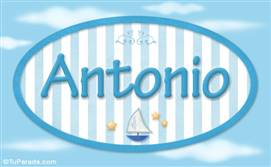 Antonio - Nombre decorativo