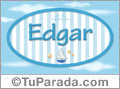 Edgar - Nombre decorativo