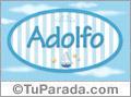 Adolfo, nombre de bebé, nombre de niño