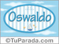Oswaldo - Nombre decorativo