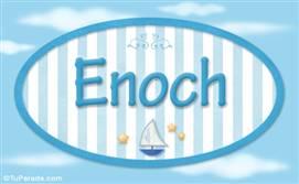 Enoch - Nombre decorativo