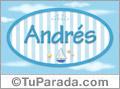 Andrés - Nombre decorativo