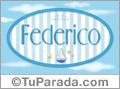 Federico - Nombre decorativo