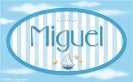Miguel - Nombre decorativo