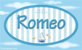 Romeo - Nombre decorativo