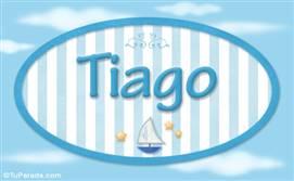 Tiago - Nombre decorativo