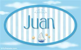 Juan - Nombre decorativo