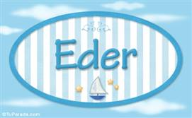 Eder - Nombre decorativo