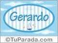 Gerardo - Nombre decorativo
