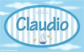 Claudio - Nombre decorativo