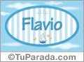 Flavio - Nombre decorativo