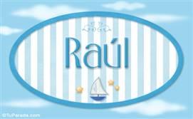 Raúl - Nombre decorativo