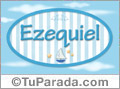 Ezequiel - Nombre decorativo