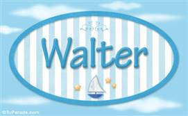 Walter - Nombre decorativo
