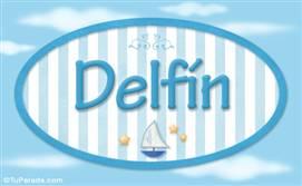 Delfín, nombre de bebé, nombre de niño