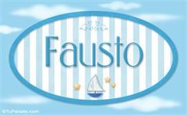Fausto, nombre de bebé, nombre de niño