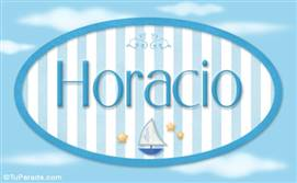 Horacio, nombre de bebé, nombre de niño
