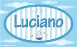 Luciano, nombre de bebé, nombre de niño