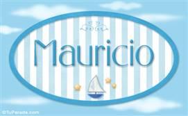 Mauricio, nombre de bebé, nombre de niño